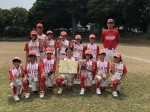 関東小学生女子ソフトボール大会 3位入賞